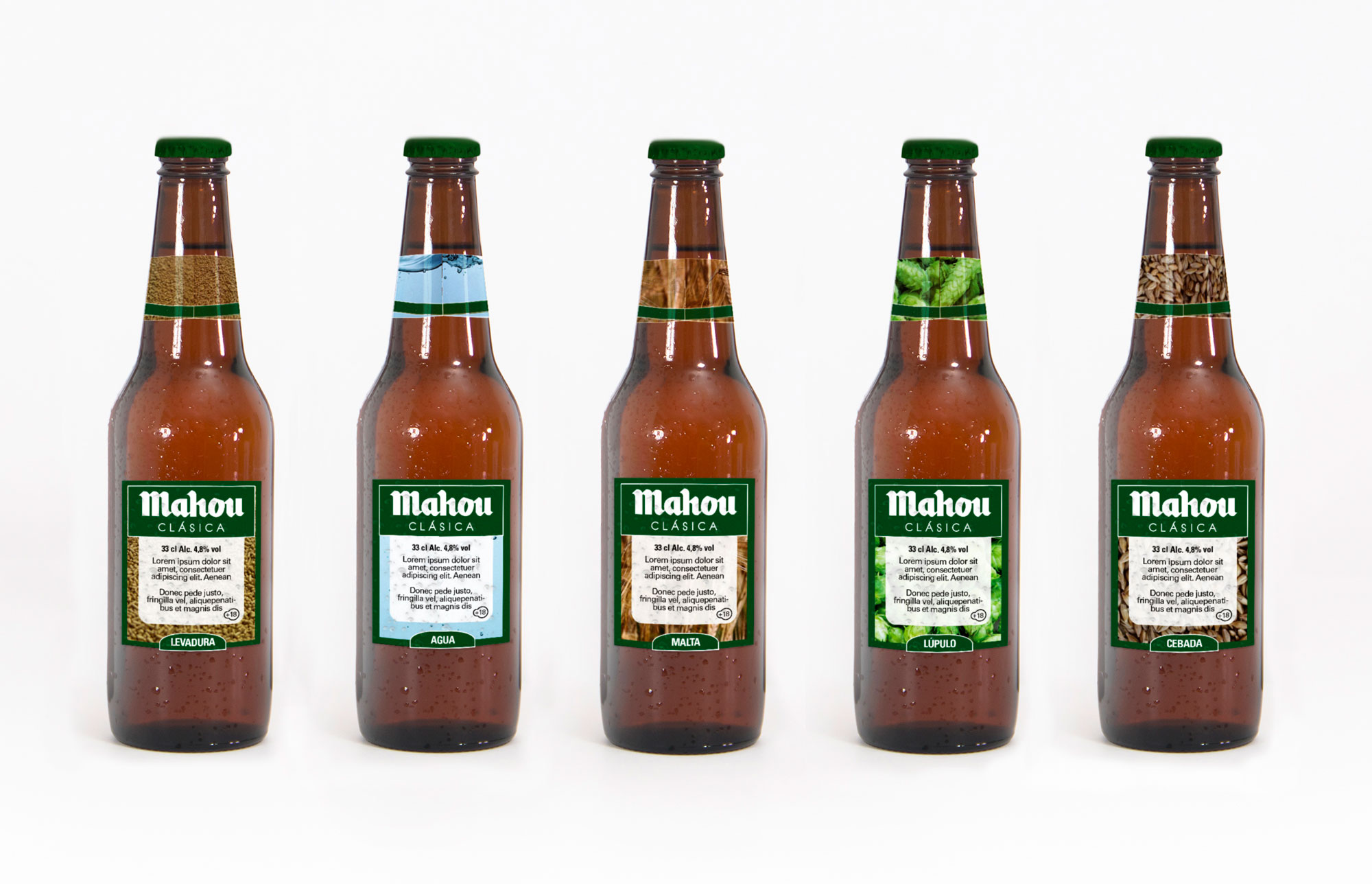 Back bottles