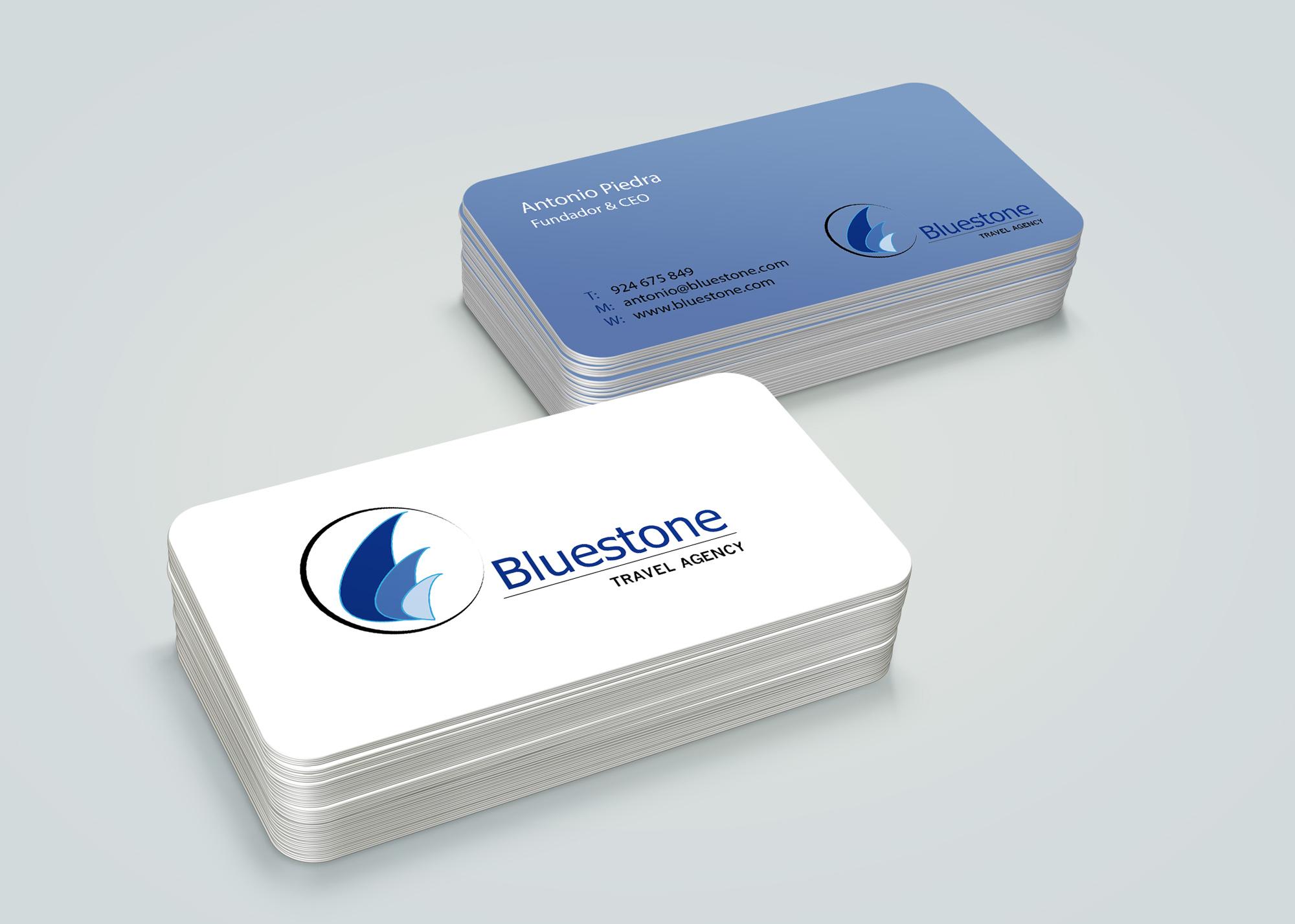 Bluestone business cards