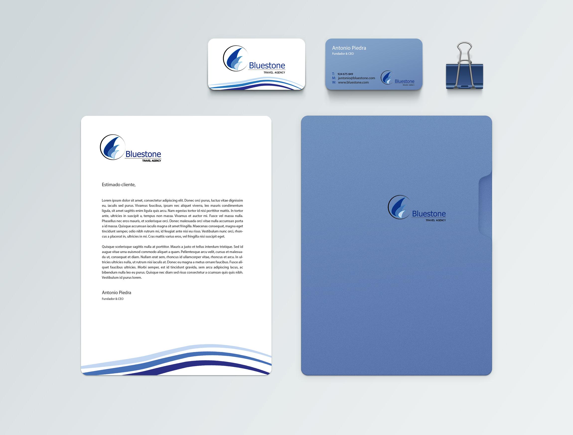Bluestone branding