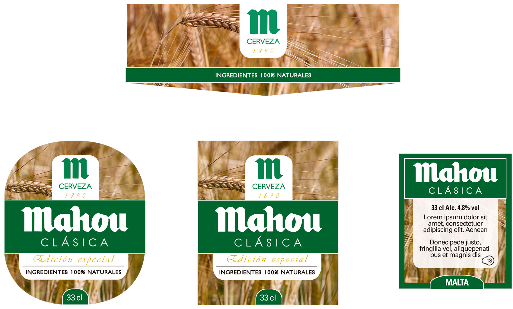 Malt labels